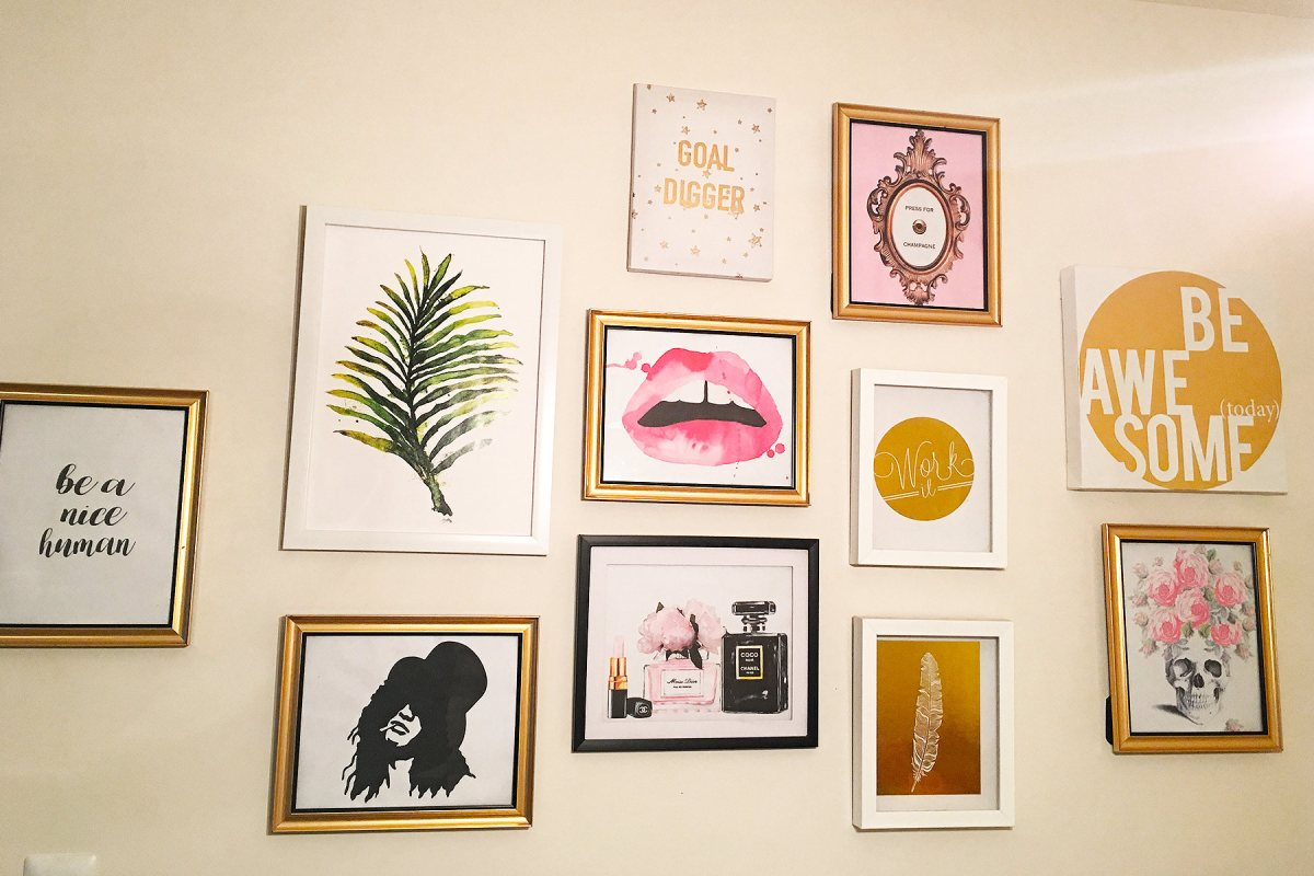 Set Of 7 Diy Gallery Wall Prints For 35 Lively Lemons