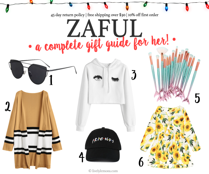 ZAFUL Gift Guide: 6 Products She'll Love Under $25
