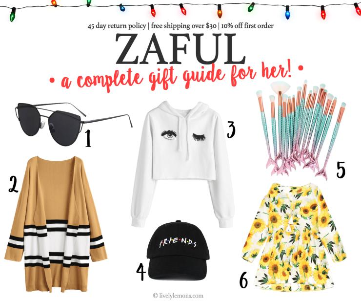 Zaful Gift Guide