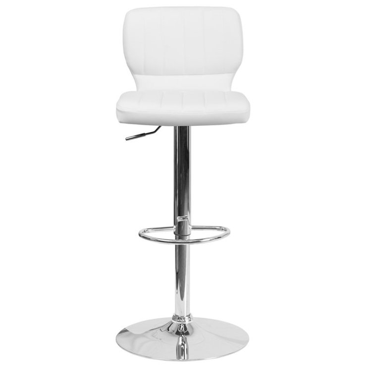 Aristocles+Adjustable+Height+Swivel+Bar+Stool